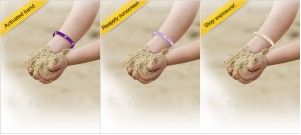 UV Monitoring Wristband by Skyrad - Gold Patents