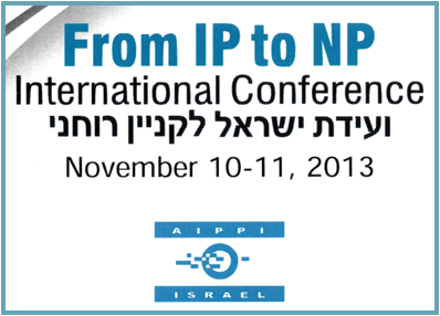 AIPPI - From IP to NP - 2013