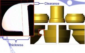 מערכת האופטית של QBV מודדת מרחק בין הפינים ובין הגלגל