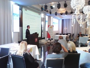Dr. Dennis Kretschmann lecturing at Gold Patent spring seminar - May 2015 -2